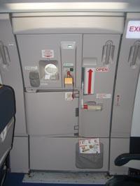 Puerta de un Airbus 321