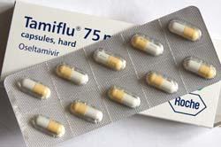 Caja y blister de Tamiflu por hisgett