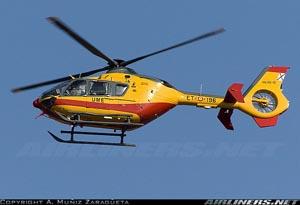 Eurocopter EC-135 de la UME