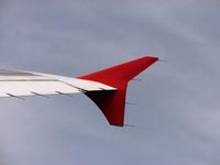 Wingtip fence A322